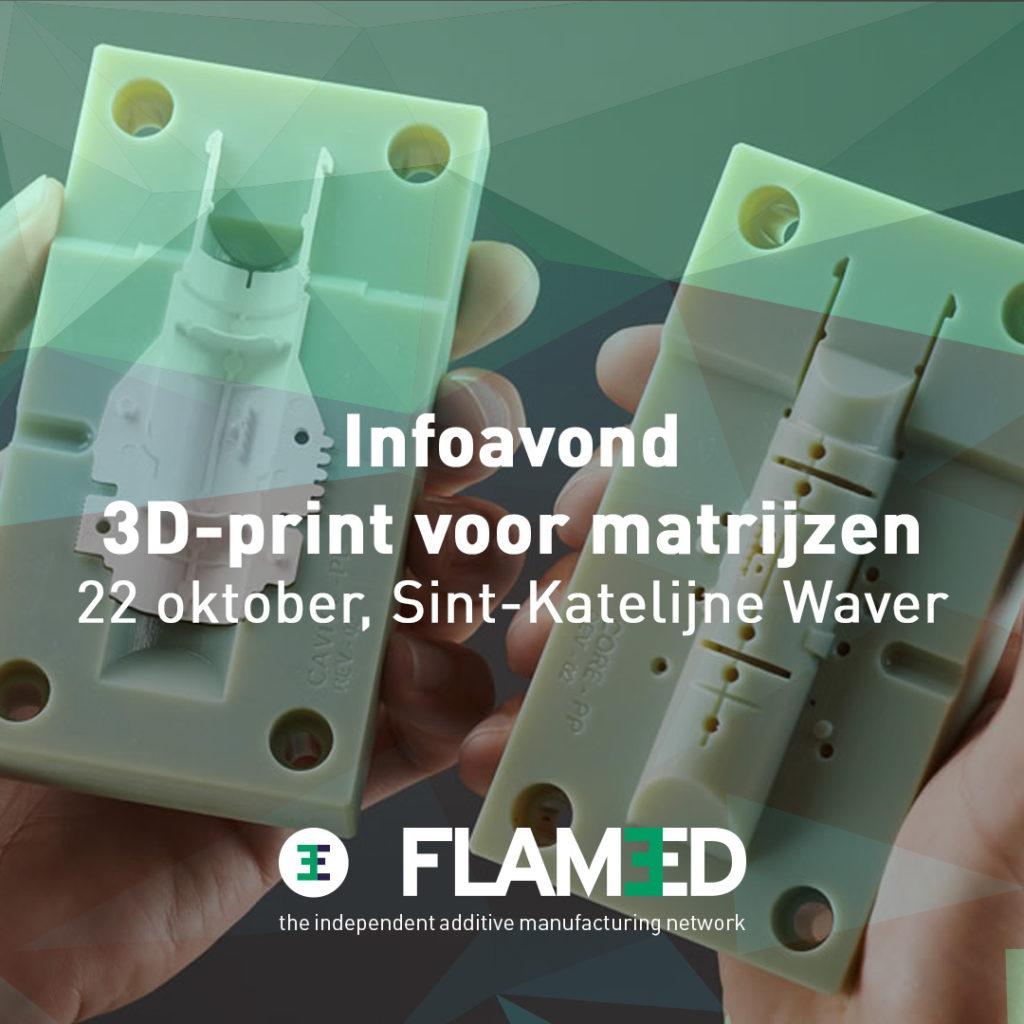 Infoavond 3D-print voor matrijzen
