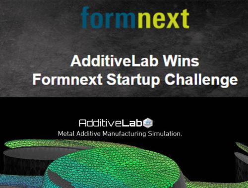 AdditiveLab wint Formnext Startup Challenge 2019