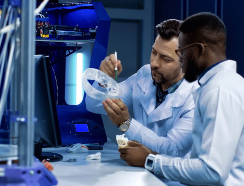 Onderzoekers aan het werk