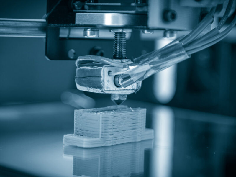3D-printer in actie