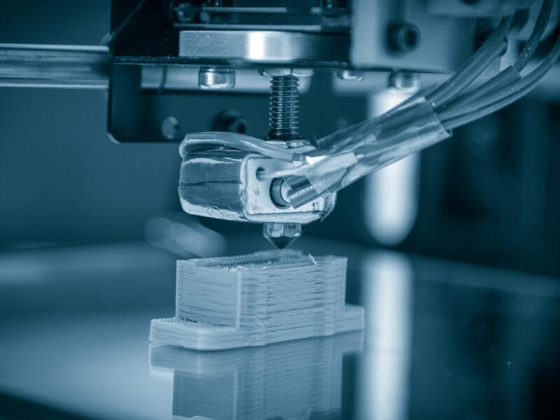 3D-printer in actie