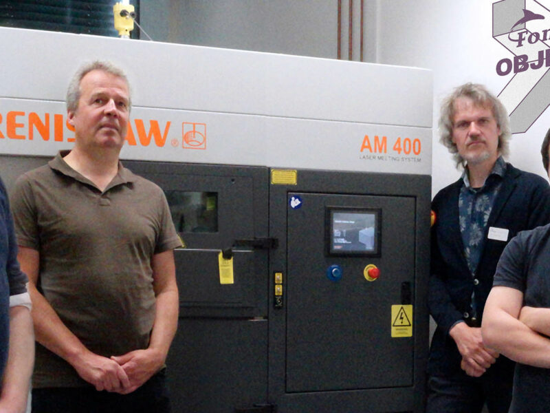 Renishaw AM400 van Fontys